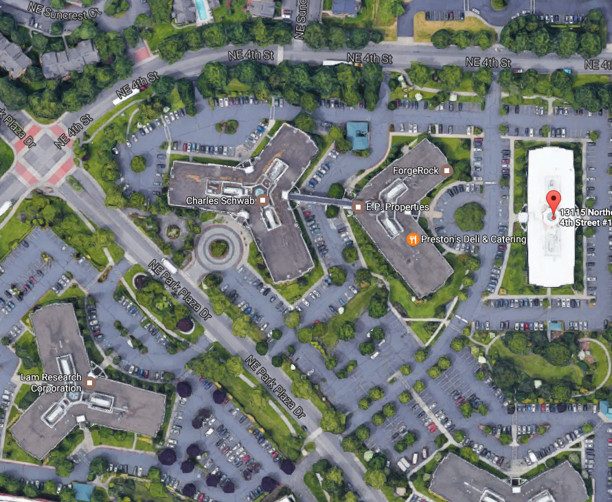The Acne Treatment Center Map in Vancouver, Washington