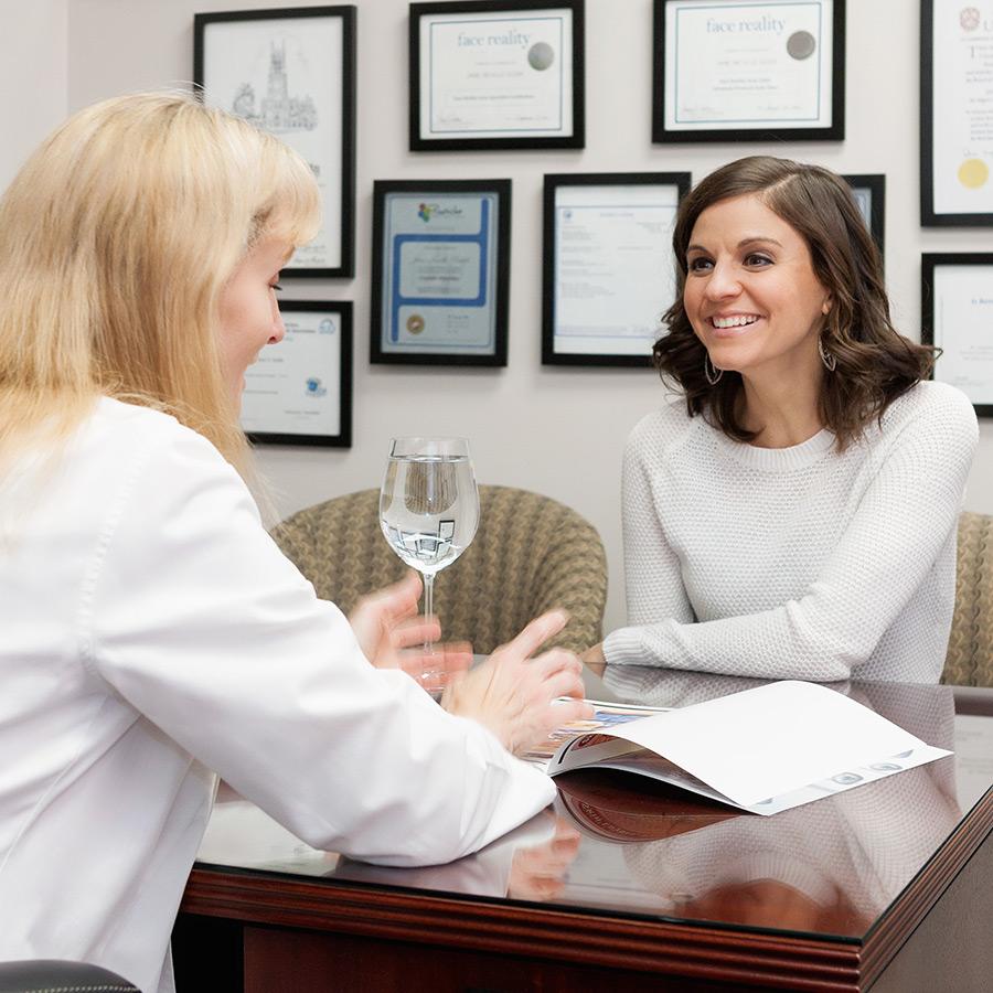 Skin Analysis and Consultation