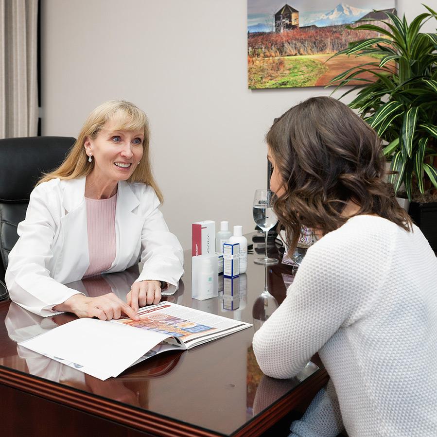 Acne Treatment Center Founder Jane Dudik