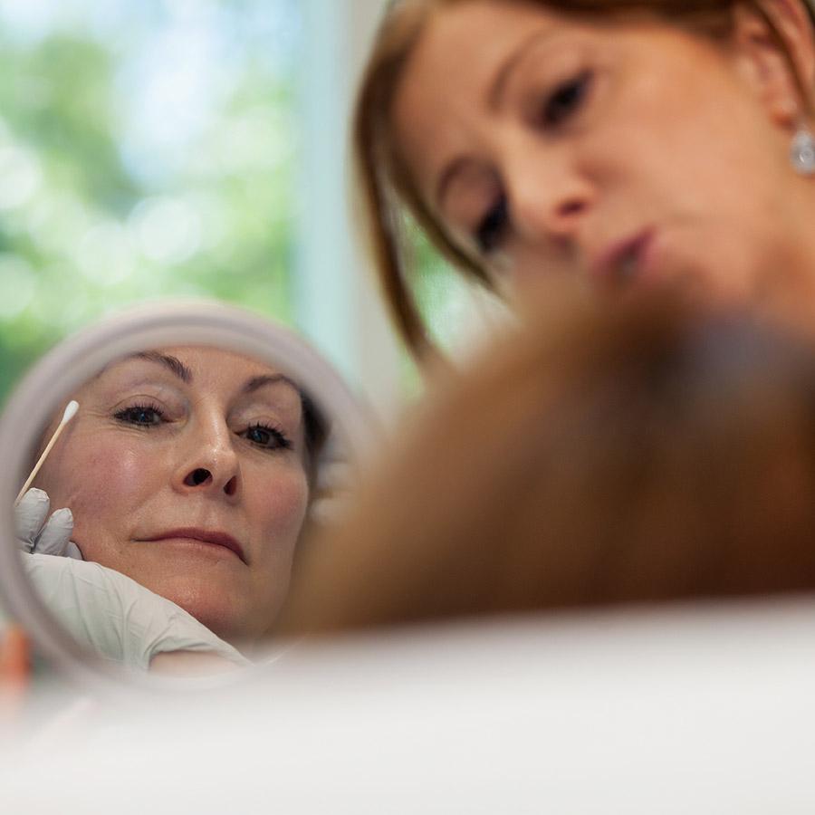 Botox beauty treatment