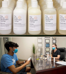The Acne Treatment Center - Getting comfortable with new routines